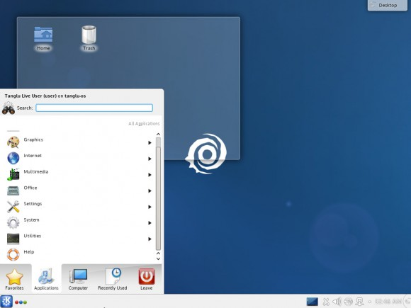 Tanglu 2: KDE-Version (Quelle: tanglu.org)