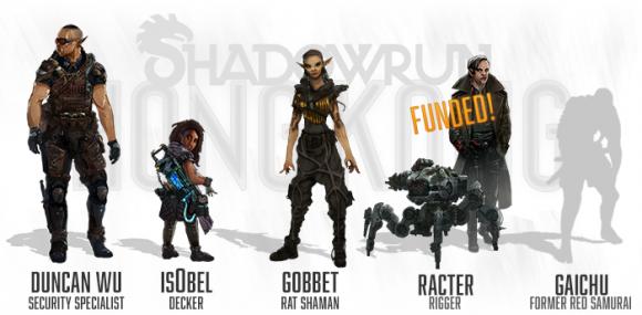 Die neue Crew ist noch nicht komplett finanziert (Quelle: kickstarter.com)