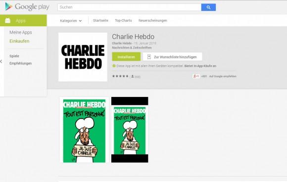 Charlie Hebdo für Android