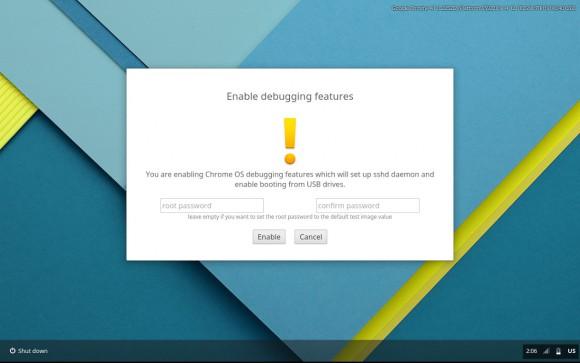 Erleichtert die neue Dev-UI das Booten von Linux auf Chromebooks via USB?