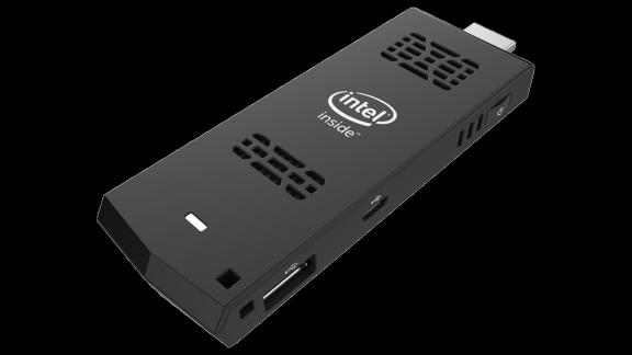 Man kann Ubuntu 14.04 selbst auf dem Intel Compute Stick installieren - ABER ... (Quelle: intel.com)