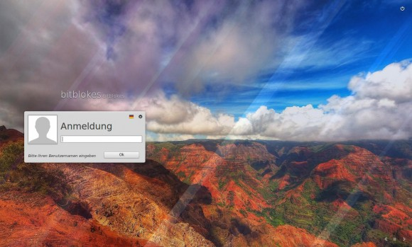 Linux Mint 17.1 KDE: Anmelden