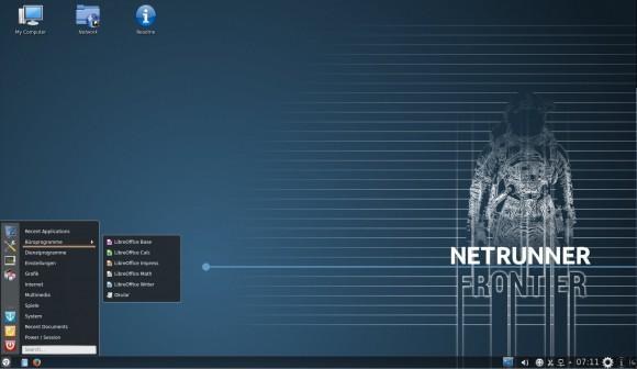Netrunner 14.1: Desktop