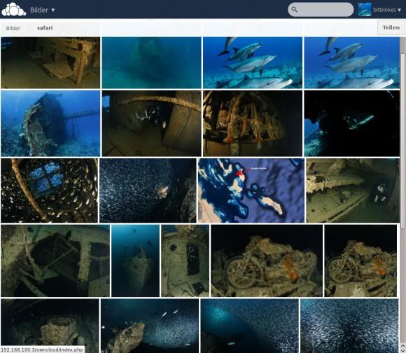 ownCloud 7: Bilder