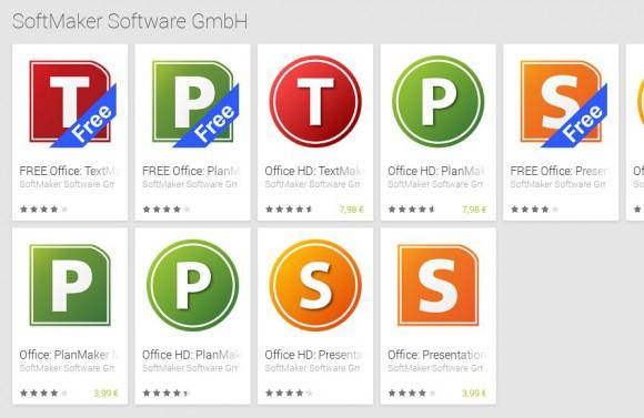 SoftMaker Office Mobile für Android: Künftig kostenlos