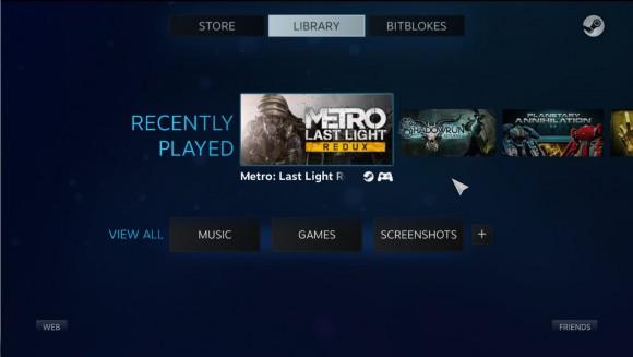 SteamOS Update 153 enthält auch einen Big Picture Mode