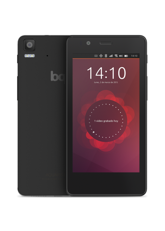 Das Aquaris E4.5 Ubuntu Edition (Quelle: bq.com) - wie wird das Bq Ubuntu Pro aussehen?