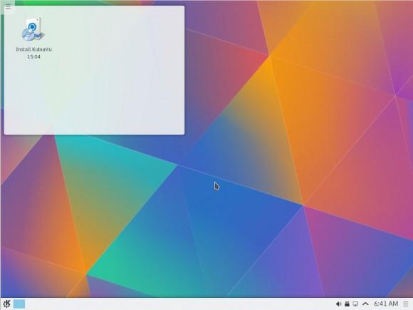 Kubuntu 15.04: Desktop