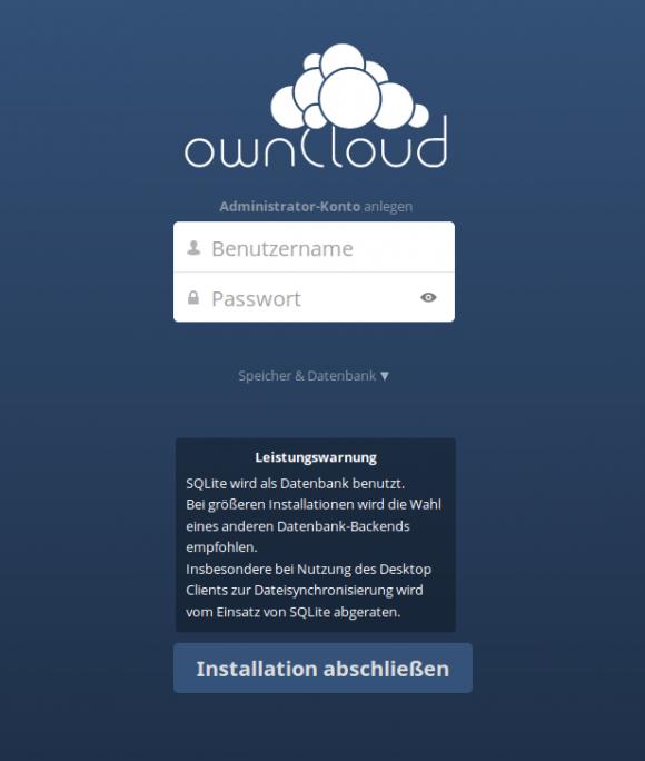 ownCloud 8 Server: SQLite nicht sehr performant