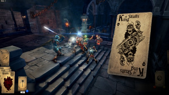 Hand of Fate und der Schädel-König (King of Skulls: Kartenspiel (Quelle: steampowered.com)