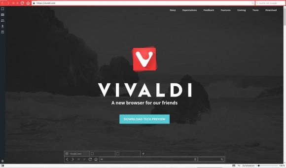 Vivaldi Browser will die Brower-Branche aufmischen