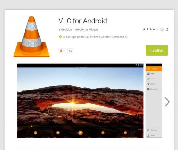 VLC für Android ist erhältlich