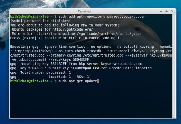 Whisker Menu 1.5.0: Via PPA installieren
