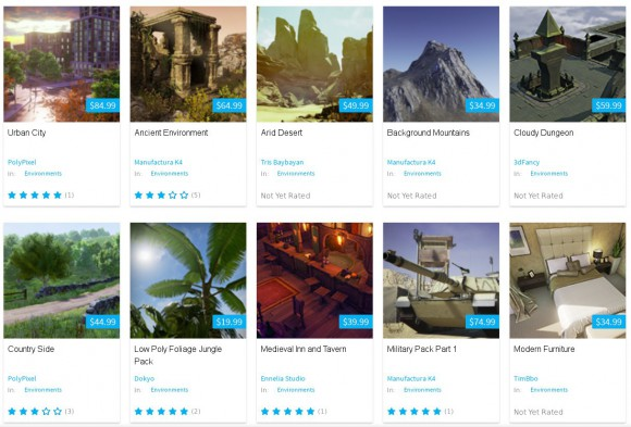 Unreal Engine 4 Marketplace