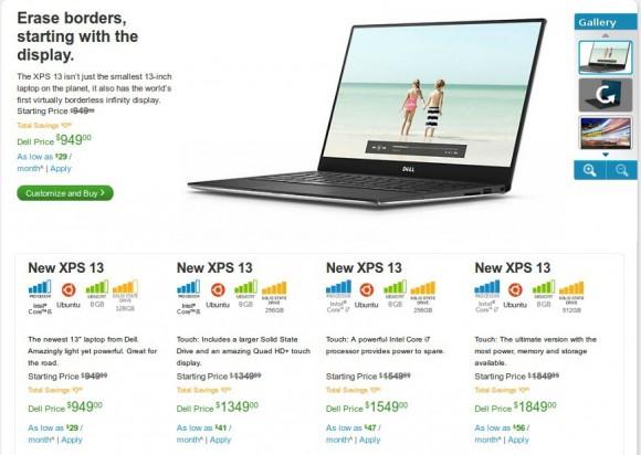 Dell XPS 13 Ultrabook mit Ubuntu 14.04 ab sofort erhältlich
