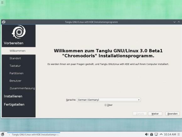 Tanglu 3.0: Installer