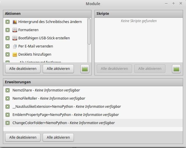 Nemo 2.6: Module » Linux | Spiele | Open-Source | Server | Desktop | Cloud | Android