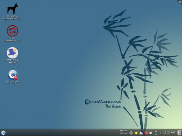OpenMandriva Lx 2014.2 Scion (Quelle: openmandriva.org)