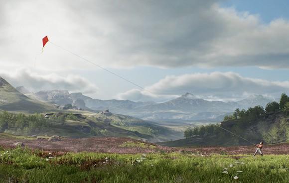 Unreal Engine 4.8: Gras so weit das Auge reicht ... (Quelle: unrealengine.com)