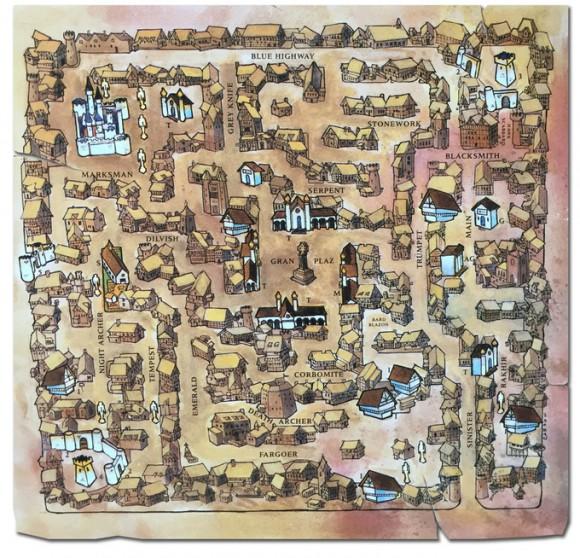 Skara Brae aus dem Original (Quelle: kickstarter.com)