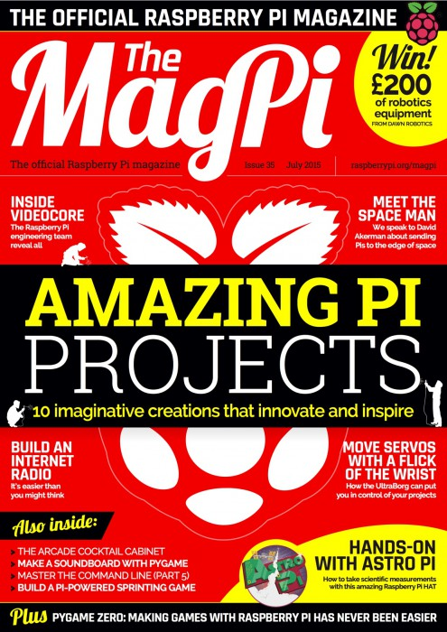 MagPi Ausgabe 35