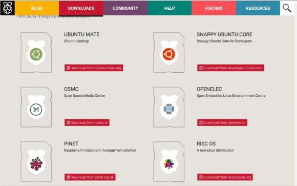OSMC ist bei Raspberry Pi verlinkt