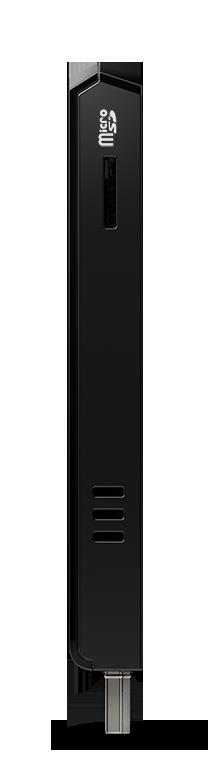 Intel® Compute Stick mit microSD-Steckplatz