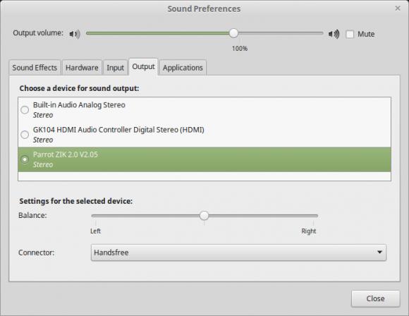Linux Mint 17.2 und libmatemixer (Quelle: linuxmint.com)