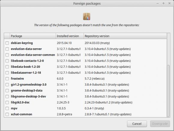 Linux Mint 17.2: Fremdpakete (Quelle: linuxmint.com)