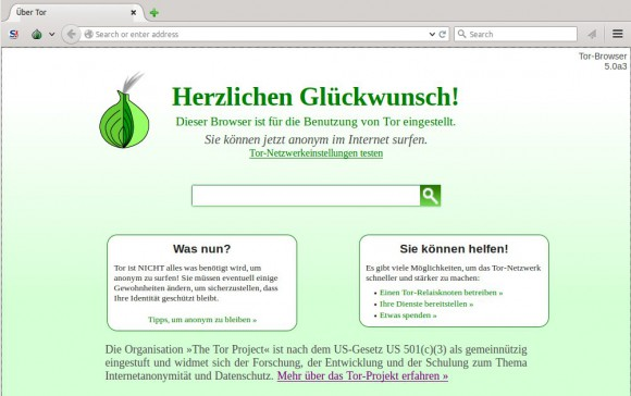 Tor Browser 5.0a3