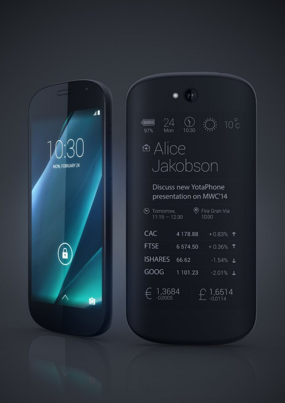 Yotaphone 2 (Quelle: amazon.de)