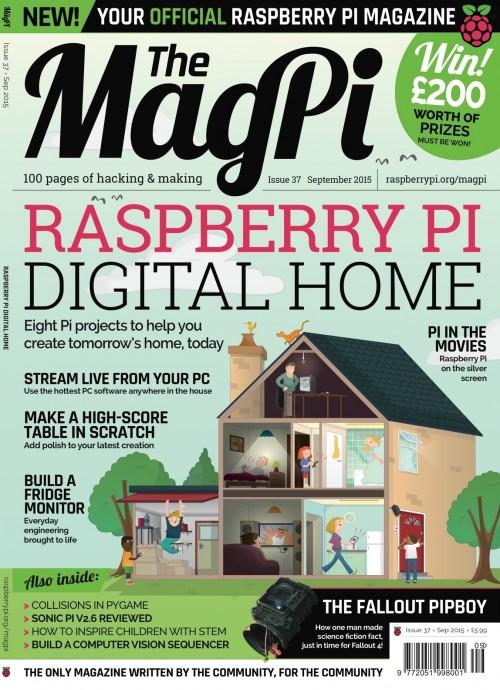 MagPi 37: Rund um das digitale Zuhause