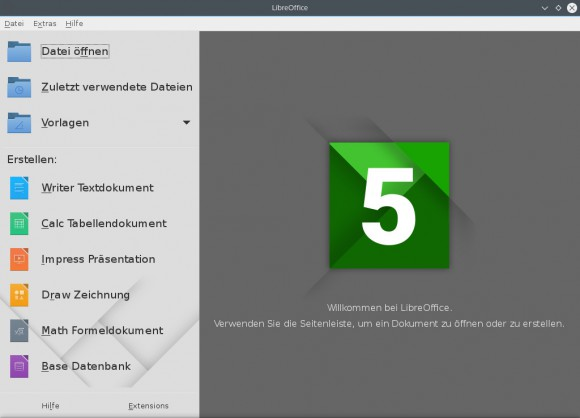 LibreOffice 5.0.1