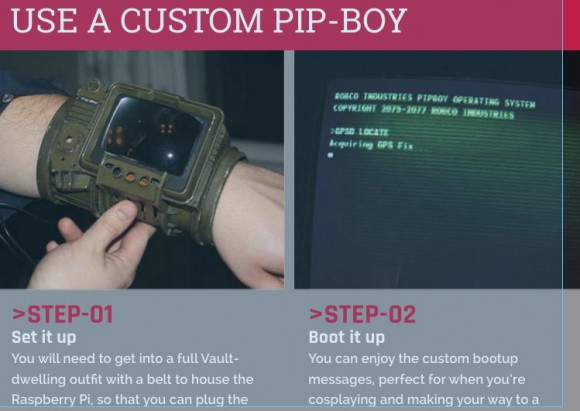 In MagPi 37: Wie bastle ich einen Pip-Boy 3000A