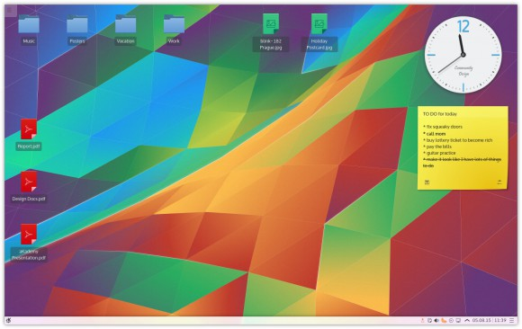 Kubuntu 15.10 Wily Werewolf setzt auf Plasma 5 (Quelle: wiki.ubuntu.com)