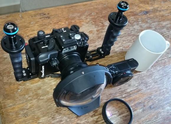 Sony RX100 III mit Unterwasser-Komponenten