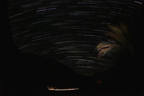 Sternenspur / Star Trail