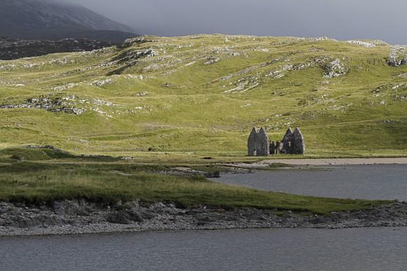 Calda-Haus am Loch Assynt