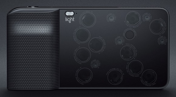 Light L16: Mehrere Sensoren in Gruppen zusammengefasst