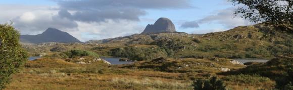 Suilven in den Highlands / Schottland