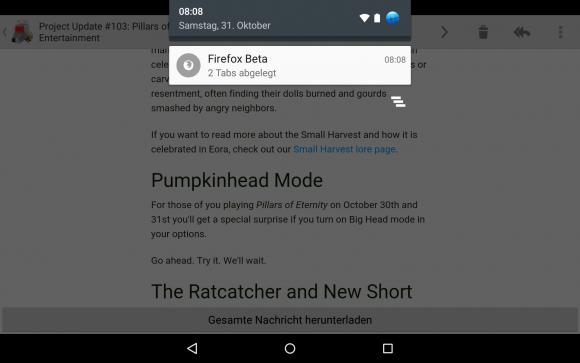 Firefox Tab Queuing - Tabs öffnen