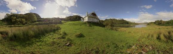 Lochside House am Loch Culag