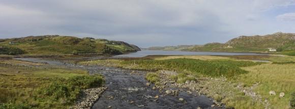 Fluss trifft Meer