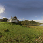 Lochside House am Loch Culag in Lochinver – 360° Panorama