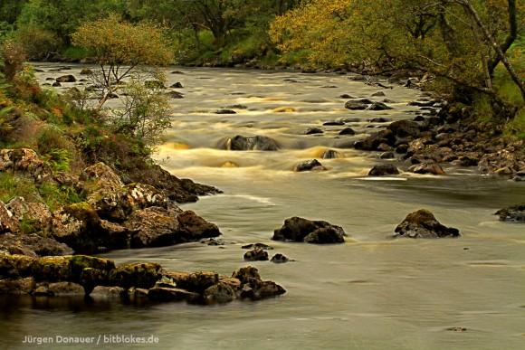 Fluss: Langzeitblichtung