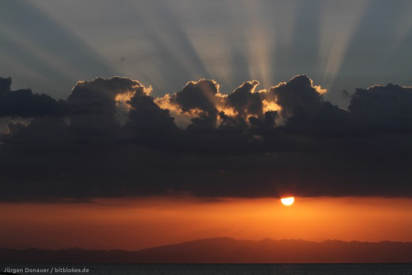 Sonnenaufgang in Dahab