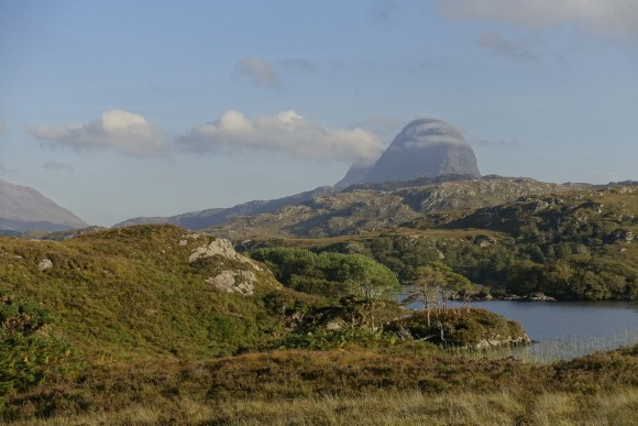 Suilven and clouds