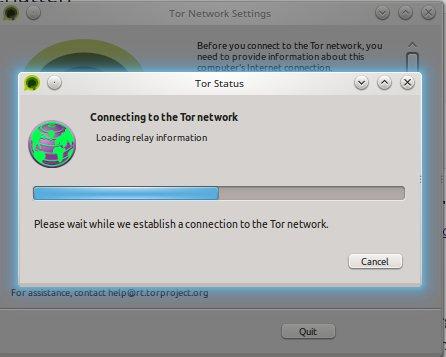 Tor Messenger verbindet sich mit dem Tor-Netzwerk