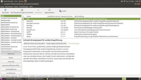 Ubuntu MATE 15.10: Synaptic
