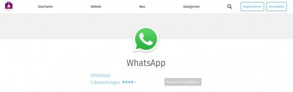 WhatsApp für Firefox OS